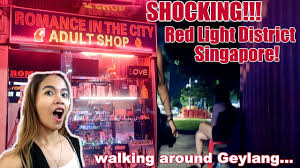 Hong Kong Red Light Area Youtube Red Light District In Singapore Walking In Geylang Singapore Nightlife