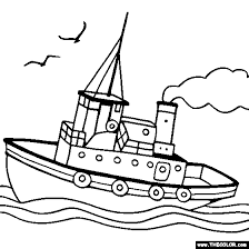 Small Picture BlueBonkers Ships and Boats Coloring pages Fishing boat in Boat