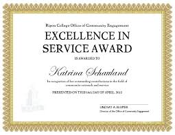Sample Awards Certificate Long Service Certificate Template Years Of Templates Word