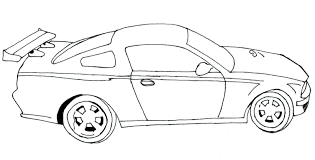 Cars Coloring Pages Free Mtkguideme