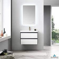 Blossom Berlin 30 Inch Wall Mount Modern Bathroom Vanity