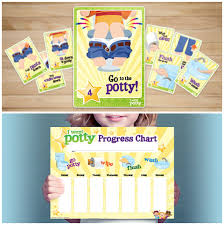 hello wonderful creative ways to make potty training fun this complete printable set gets you ready to take on potty training flash cards progress charts reward cards and ribbons