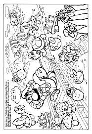 Luxe Kleurplaten Super Mario Bros Wii Klupaatswebsite