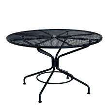 staggering inch round patio table textured black contract inch round mesh top umbrella table round 48