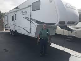 congratulations to joseph jane marquardt on their 2009 keystone cougar 320 srx 5th wheel toy hauler