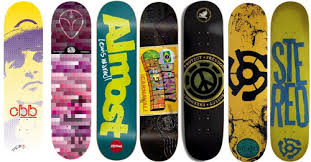 7 Skateboard Decks DECK BULK LOT - ALIEN WORKSHOP ALMOST BLIND ENJOI  DARKSTAR