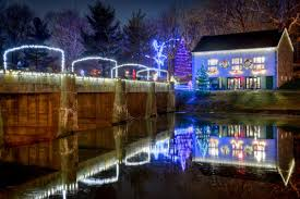 Grings Mill Christmas Lights Annual Holiday Lights At Grings Mill Features Music Trains