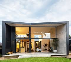 Addition Design A Bungalow In Sydney Gets A Dramatic Pavilion Like Addition