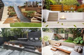 Modern Backyard Design Amazing 48 MultiLevel Backyards To Get You Inspired For A Summer Backyard