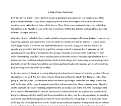 how to write a strong personal tale of two cities essay a tale of two cities essay at com