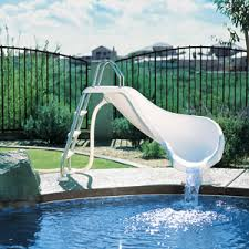 in ground pools with slides. Modren Ground Zoomerang InGround Pool Slide Intended In Ground Pools With Slides