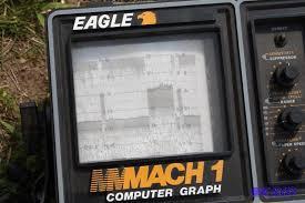 Eagle Brand Mach 1 Computer Graph Fish Sensor Andover