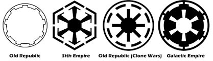 Why does the Republic in the prequels use the iconography and ...