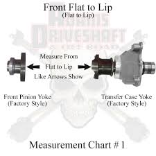 U Joint Measurement Chart Details About Adams Driveshaft Extreme Duty Jk Front Rear 1350 Cv Driveshafts Solid U Joints