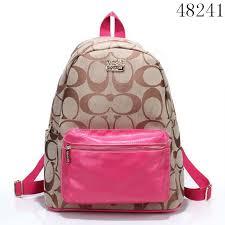 Coach Campus Backpacks Shoulder School Signature Backpack 48241