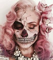 skeleton makeup these makeup ideas are all you need to pull off the ultimate last minute costume