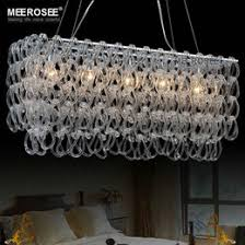 modern glass chandelier lighting. modern glass chandelier lustres rectangle lighting fxiture hotel bedroom dining room suspension light lamp 100 guarentee
