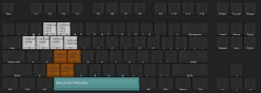 people wanted me to share my super compact key layout with space