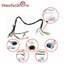 electrical main wiring harness wire loom plus connectors for pw50 wiring harness at Pw50 Wiring Diagram