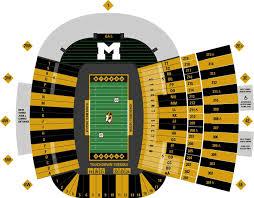 Faurot Field Seating Chart 2018 Missouri Tigers 2018 Football Schedule