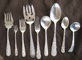 Silver Plate Pattern Chart Collecting Vintage Sterling Silver And Silverplate Tableware