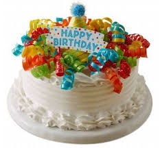 Birthday Party Ice Cream Cake Marble Slab Creamery