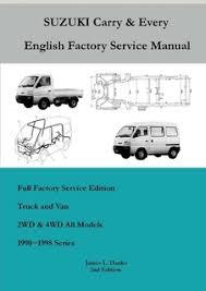 service manuals buckeye mini trucks the mini truck accessory store suzuki carry every van service manual