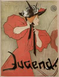 jugend cover issue 47 by julie wolfthorn 1897 learn paintingart nouveau ilrationart nouveau poster