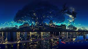 Anime Night City Wallpapers - Top Free ...