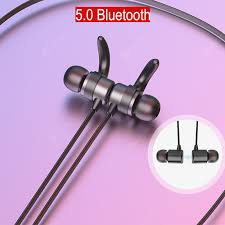 <b>RUNFENGTE</b> 5.0 <b>Bluetooth Earphone</b> Sports Neckband Magnetic ...