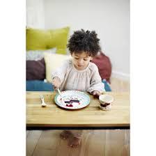 <b>Бамбуковая тарелка</b> для детей <b>Ebulobo</b> Волчонок