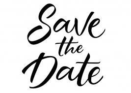 Save The Date Lettering Vector Free Download