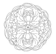 Kleurplaten Dieren Mandala