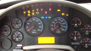 International Truck Dash Lights International Maxxforce Startup