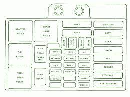 1991 chevy fuse box diagram diagram 1991 Chevy Astro Fuse Box 1991 Chevy Cargo Van