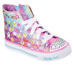 Skechers Toddler Light Up Shoes Australia Skechers Sunshines Black Pink S Lights Girls Australia