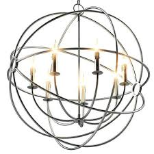 chandeliers rustic orb chandelier iron medium model max obj 3 large