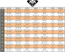 Xcel Wetsuits Size Chart Cm Womens Wetsuit Size Chart Guide 7 Brands