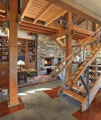 Staircase Railing Ideas rustic stair railing ideas living room contemporary with wood 8942 by xevi.us