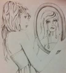 looking in mirror different reflection drawing. bdd_mirror_art_drawing \u201c looking in mirror different reflection drawing bdd foundation