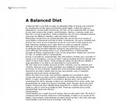 healthy diet plan essay diet plan another picture of healthy diet plan essay using shortcode or