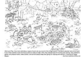 Free printable coloring pages for a variety of themes that you can print out and color. Coloring Page Village Free Printable Coloring Pages Img 3976