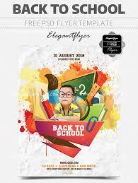 20 Free Premium Back To School Flyer Print Ready Templates