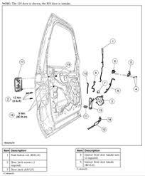 ford door latch diagram 2000 Ford Focus Door Lock Diagram ZX3 Fuse Box