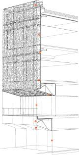 architecture office names. John Lewis Department Store Leicester - Sectional Perspective Detail Architecture Office Names A