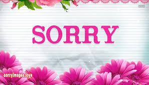 Sorry Wallpaper For Download Sorryimageslove Impressive Sorry Image Download