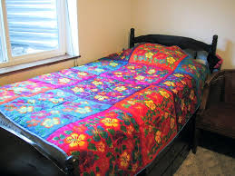 The many colors of Maya & Bed quilt Adamdwight.com