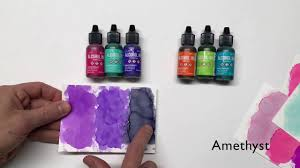 Adirondack Alcohol Ink Colour Chart Tim Holtz Alcohol Ink