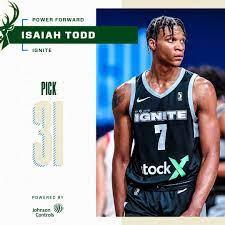 31st pick of the 2021 NBA Draft ...