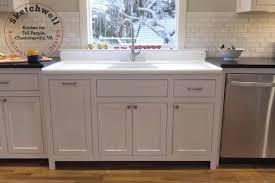 vintage kitchen sink antique cast iron double bowl double